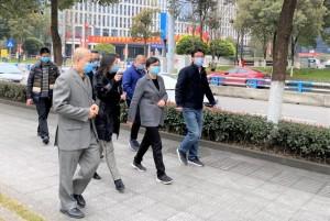 区长张国智实地调研重庆天安数码城企业复工复产情况